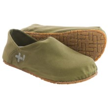 OTZ Shoes 300GMS Waxed Canvas Shoes - Slip-Ons (For Women) in Moss - Closeouts