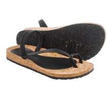 OTZ Shoes Diana Leather Sandals (For Women) in Black - Closeouts