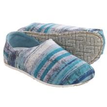 OTZ Shoes Espadrille Batik Shoes - Slip-Ons (For Women) in Grey - Closeouts