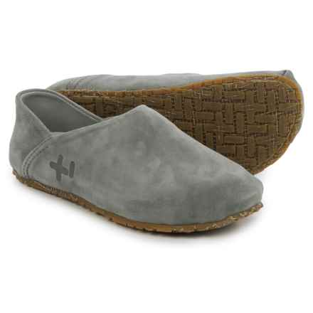 OTZ Shoes Espadrilles - Goat Suede (For Women) in Grey - Closeouts