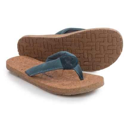 OTZ Shoes Geta Flip-Flops (For Men) in Blue - Closeouts