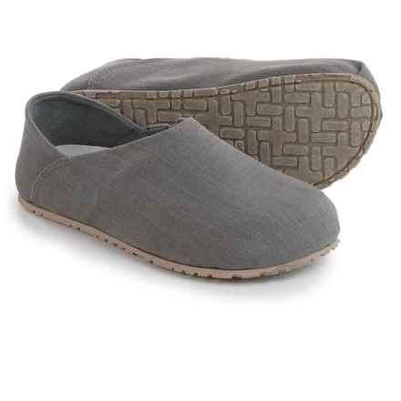 OTZ Shoes Linen Espadrilles (For Women) in Castlerock Grey - Closeouts