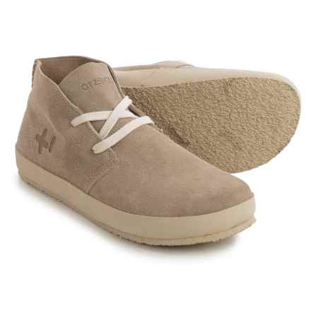OTZ Shoes Trench Sneakers - Suede (For Men) in Sand - Closeouts