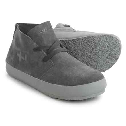 OTZ Shoes Trench Sneakers - Suede (For Men) in Shale - Closeouts