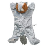 Outback Jack Biggie Squirrel Dog Toy - Stuffing Free