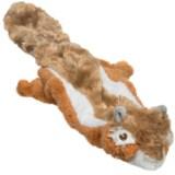Outback Jack Floppie Chipmunk Dog Toy - Stuffing Free