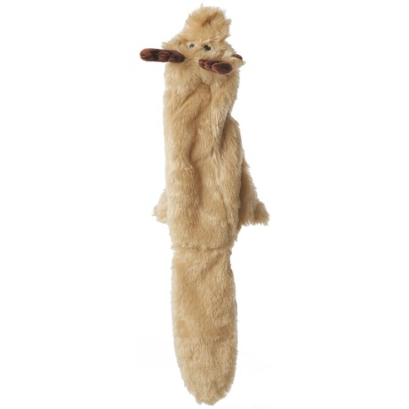 Outback Jack Floppie Moose Dog Toy - Stuffing Free in See Photo