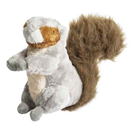 Outback Jack Grunting Squirrel Plush Dog Toy in Brown - Closeouts