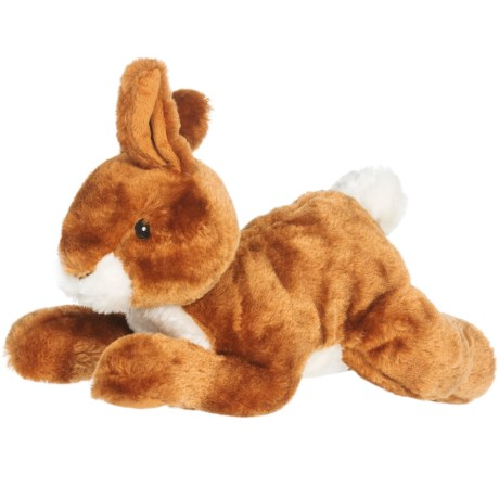 Outback Jack Plush Rabbit Dog Toy in See Photo
