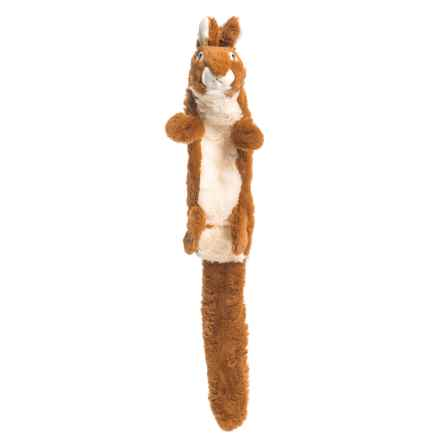 Outback Jack Stuffless Lobbie Rabbit Dog Toy in Tan - Closeouts