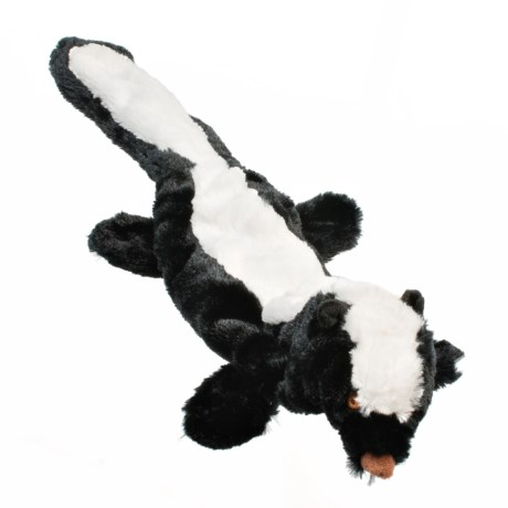 Outback Jack Stuffless Lobbie Skunk Dog Toy in See Photo