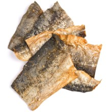 Outback Jack Wild Salmon Half Fish Skin Dog Treats - 6-Pack in See Photo - Closeouts