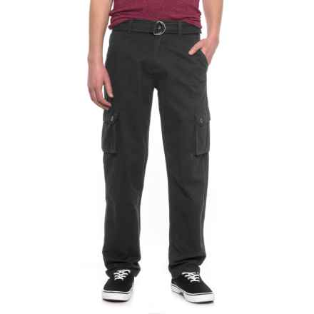 Outback Rider Belted Cargo Pants (For Men) in Black - Overstock