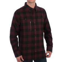 Outback Trading Cumberland Shirt - UPF 30, Long Sleeve (For Men) in Burgundy - Closeouts