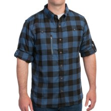 Outback Trading Cumberland Shirt - UPF 30, Long Sleeve (For Men) in Lake Blue - Closeouts