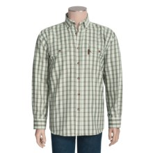 Outback Trading Drummond Plaid Shirt - Flannel, Long Sleeve (For Men) in Brown - Closeouts