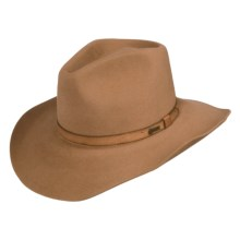 Outback Trading Goulburn Hat - Fur Felt (For Men and Women) in Tan - Closeouts