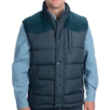 Outback Trading Long Reach Vest - Insulated (For Men) in Steel - Closeouts