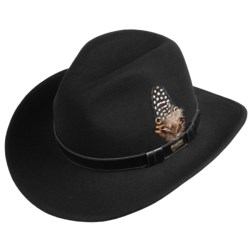 Outback Trading Pathfinder Hat - UPF 50, Wool (For Men and Women) in Black