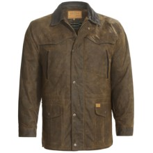 Outback Trading Pathfinder Oilskin Jacket (For Men) in Bronze - Closeouts