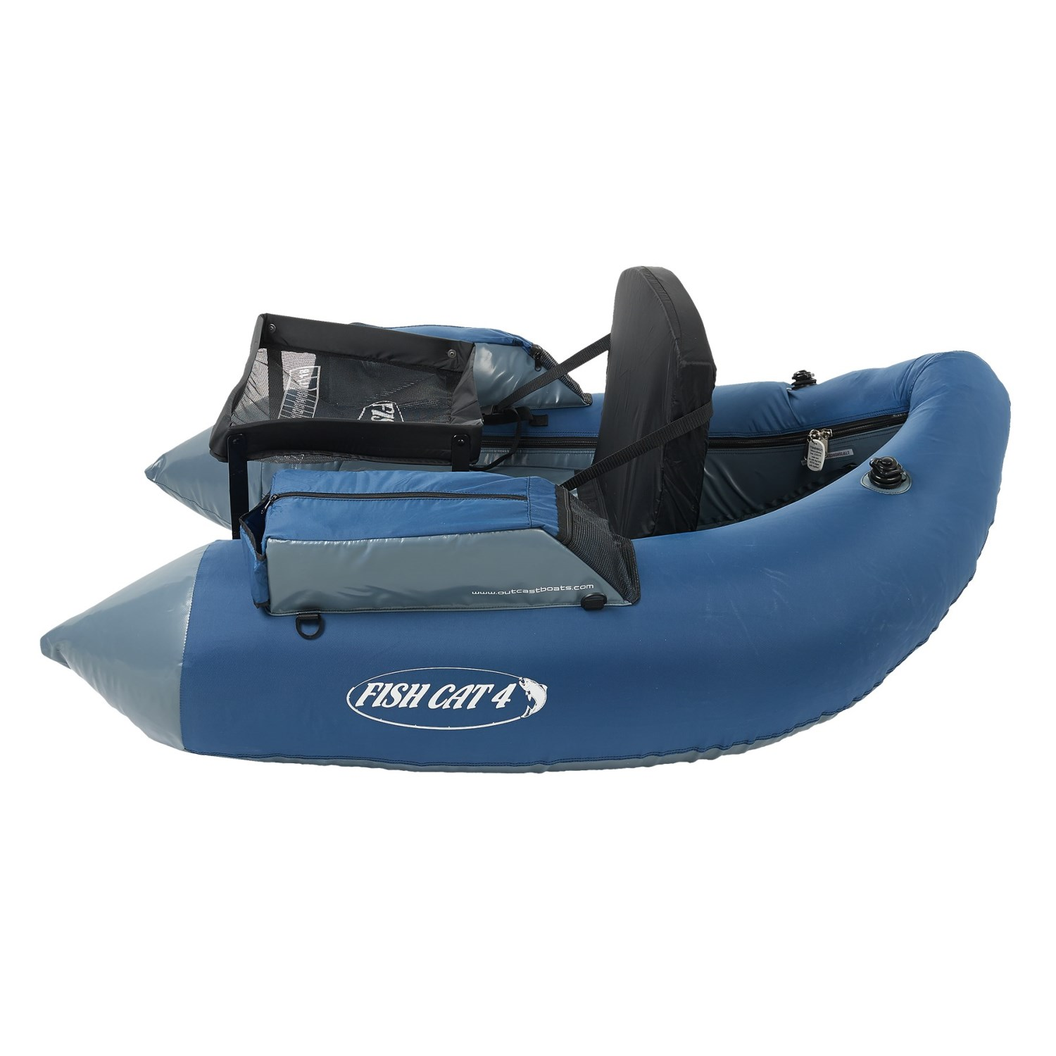 Outcast boats fish cat 4 lcs float tube save 34 for Fish cat 4