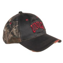 Outdoor Cap College Team Cap - 3D Logo, 6-Panel, Distressed Bill (For Men) in Unlv - Closeouts