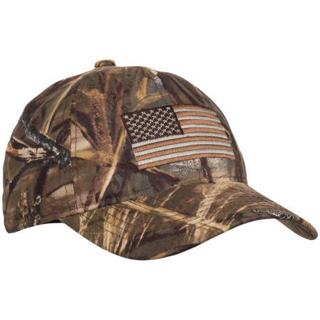 Outdoor Cap Realtree Max-4® Flag Baseball Cap (For Men) in Realtree Max-4