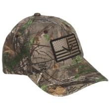 Outdoor Cap Turkey Track Baseball Cap - Realtree® Camo (For Men) in Realtree Xtra Green - Closeouts