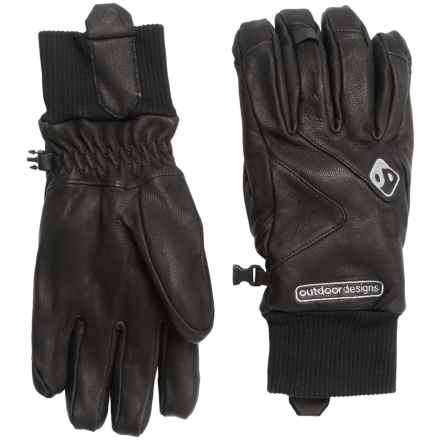 Outdoor Designs Denali Worker Gloves (For Men and Women) in Black - Closeouts