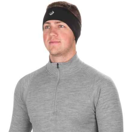 Outdoor Designs Windi Polartec® Headband (For Men and Women) in Black - Closeouts