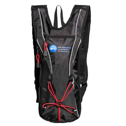Outdoor Nation Hydration Pack - 50 fl.oz. in Black - Closeouts