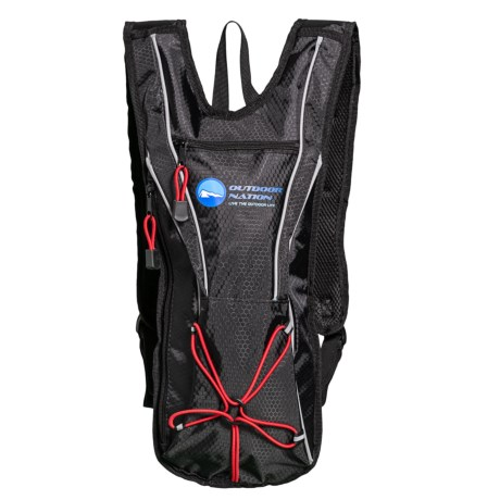 Outdoor Nation Hydration Pack - 50 fl.oz. in Black