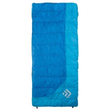 Outdoor Products 30°F Sleeping Bag - Rectangular, Synthetic in Pewter/Blue - Closeouts