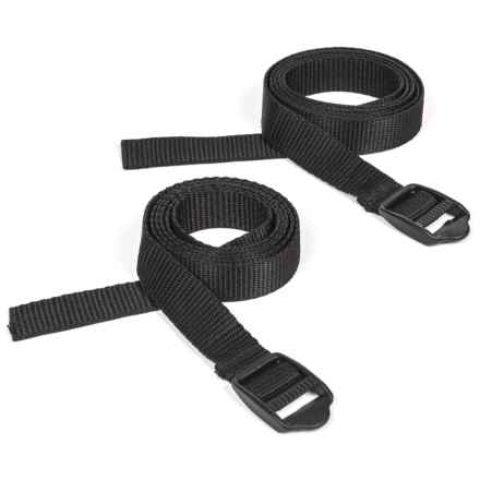 Outdoor Products Accessory Strap - 2-Pack, 3.5' in Black - Closeouts