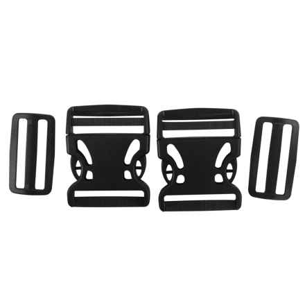 Outdoor Products Buckle and Slider Replacement Kit - 2-Piece in Black - Closeouts