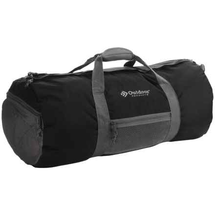 Outdoor Products Deluxe Duffel Bag - Medium in Black - Closeouts