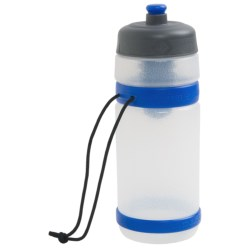 Outdoor Products Filtration Water Bottle - Extra Filter, BPA-Free, 18 fl.oz. in Blue