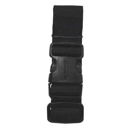 Outdoor Products Heavy-Duty Lashing Strap - 4' in Black - Closeouts