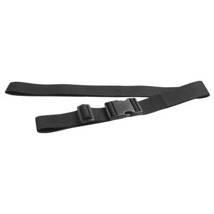 Outdoor Products Heavy-Duty Lashing Strap - 6' in Black - Closeouts