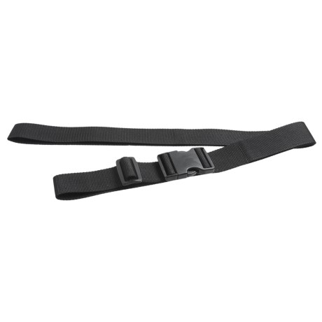 Outdoor Products Heavy-Duty Lashing Strap - 6' in Black
