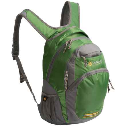 Outdoor Products Hype 23L Backpack in Medium Green - Closeouts