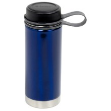 Outdoor Products Insulated Water Bottle - 18 fl.oz., Stainless Steel in Blue - Closeouts