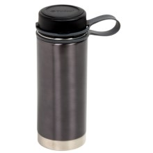 Outdoor Products Insulated Water Bottle - 18 fl.oz., Stainless Steel in Grey - Closeouts
