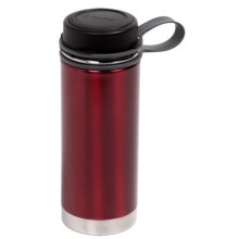 Outdoor Products Insulated Water Bottle - 18 fl.oz., Stainless Steel in Red - Closeouts