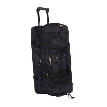 Outdoor Products LaGuardia Rolling Travel Bag in Black - Closeouts