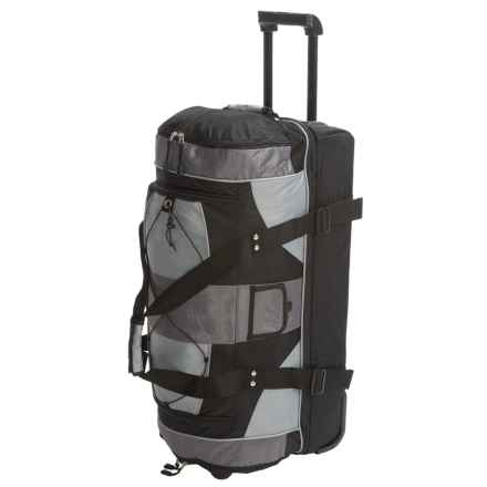 Outdoor Products LaGuardia Rolling Travel Bag in Graphite - Closeouts