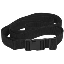 Outdoor Products Quick-Release Lashing Strap - 9 ft. in Black - Closeouts