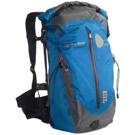 Outdoor Products Shasta 30L Backpack in Blue - Closeouts