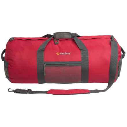 Outdoor Products Utility Duffel Bag - Large in Red - Closeouts