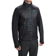 Outdoor Research Acetylene Jacket - Insulated (For Men) in Black/Hydro - Closeouts